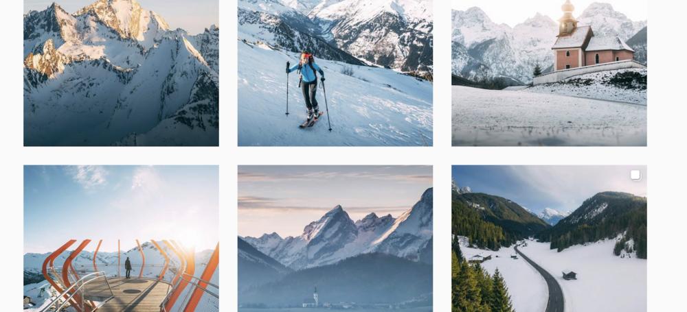 Snowgrammers: Diesen 9 solltest du folgen, wenn du Schnee in deinem Feed sehen willst