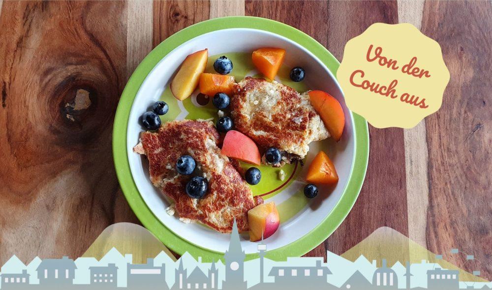 Von der Couch aus: 3 gesunde Snacks für Kinder